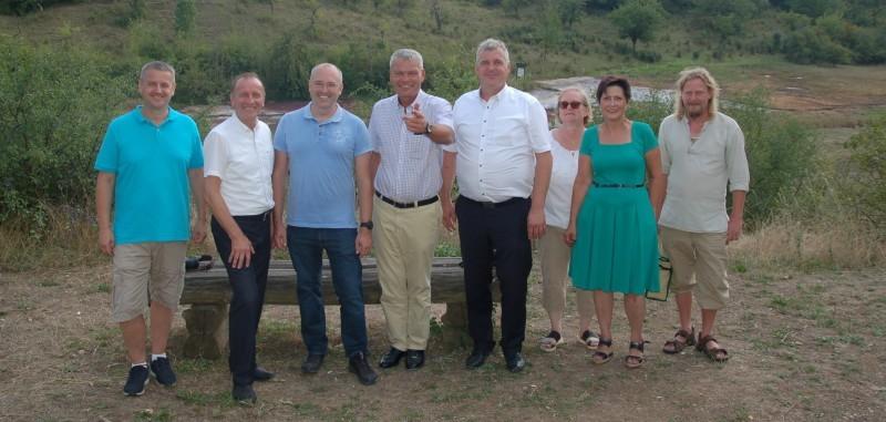 Guido Heuer und weitere Minister zu Besuch im Sülzetal