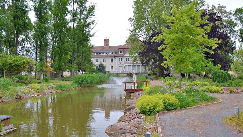 Parkanlage am Schloss Bahrendorf